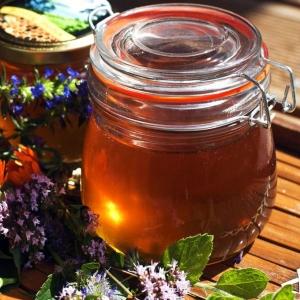 Мёд разнотравье осень